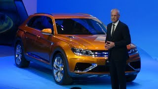 Volkswagen CrossBlue Coupe Concept 2013 Videos