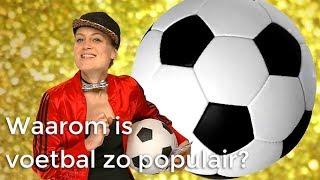 Waarom is voetbal zo populair? | Waarom? Daarom? | Het Klokhuis