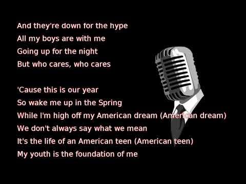 Khalid  American Teen lyrics