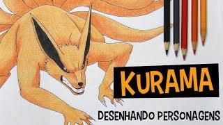 Como desenhar Kurama ou Kyuubi (Naruto)