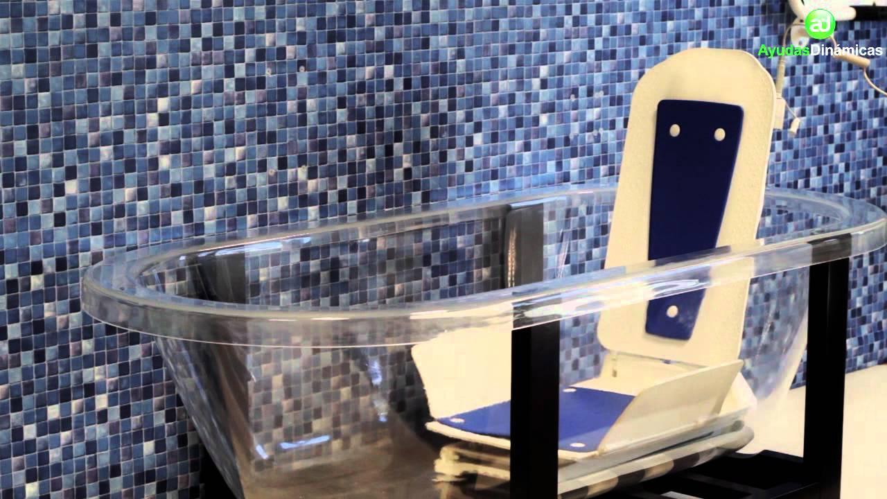 Elevador eléctrico de bañera BATH MASTER Ayudas Dinámicas AD590 - YouTube 631a06defd1f