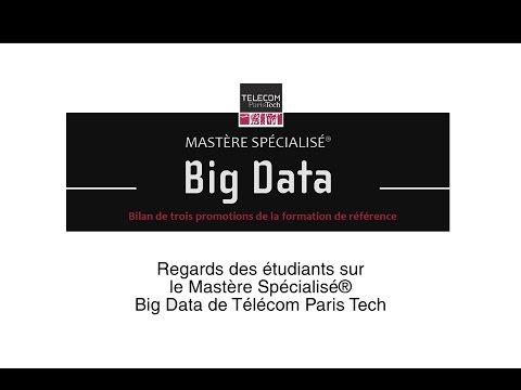 Regards des étudiants sur le Mastère Spécialisé ®  Big Data de Télécom Paris Tech