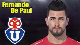 Fernando De Paul (U.De Chile) PES 2018-19