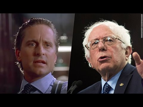 The Real Gordon Gekko Supports Bernie Sanders For President