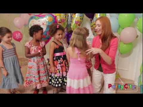 Garden Girl Birthday Party Ideas from Party City - YouTube