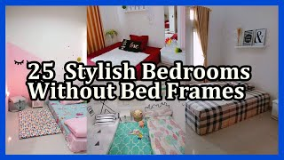 These Hacks Make It Easy To Style Your Bed On The Floor Youtube