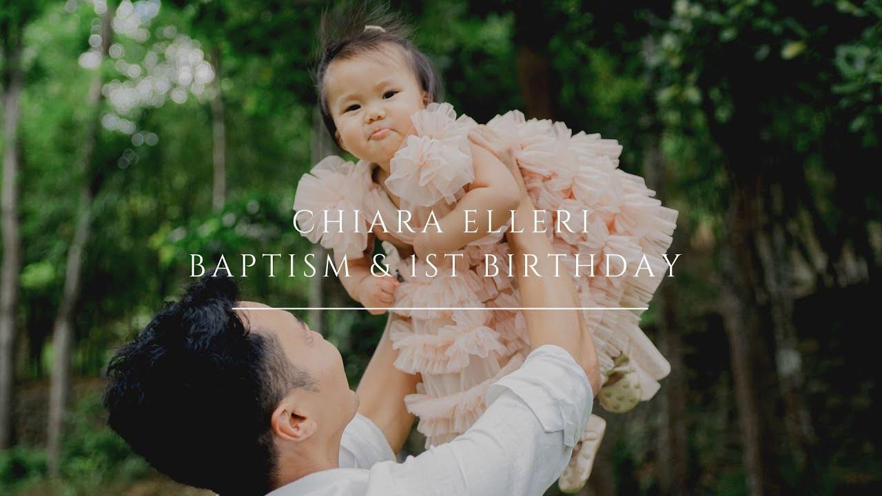 Angelfields 1st Birthday & Baptism of Baby Chiara Elleri