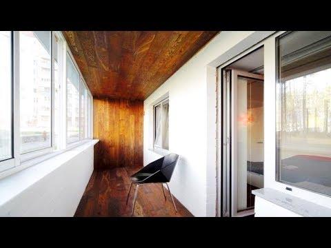 6 Идей Оформления Потолка На Балконе и Лоджии