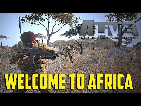 ARMA 3 ALIVE - Welcome to Africa