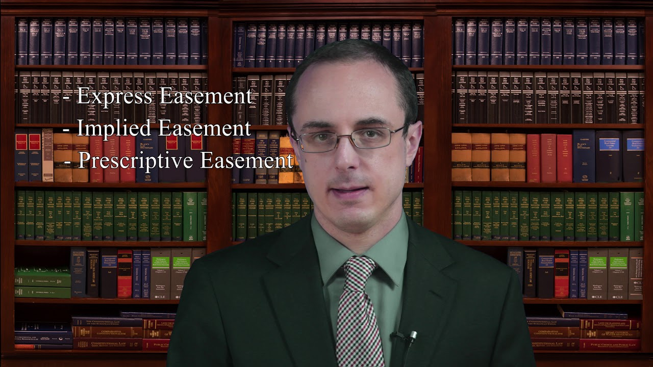 VIDEO: What is an easement for ingress and egress