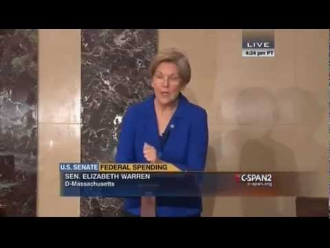 Remarks by Senator Warren on Citigroup and its bailout provision