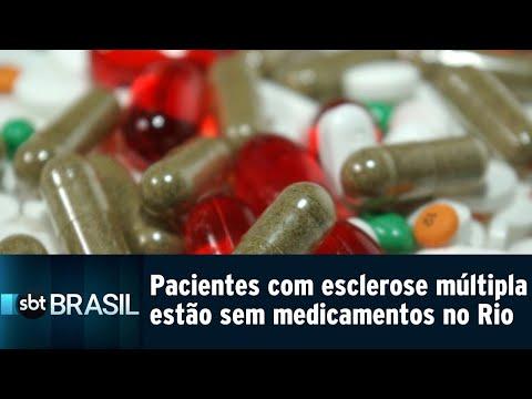 Pacientes com esclerose múltipla estão sem remédios no Rio   SBT Brasil (25/07/18)