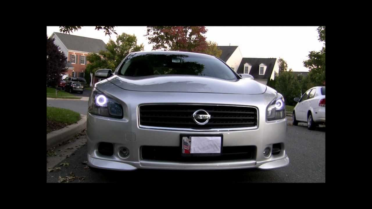 09 Maxima Custom Light Vid Youtube