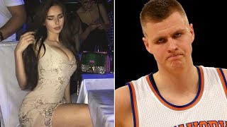 Kristaps porzingis caught creeping on instagram model, gets shot down