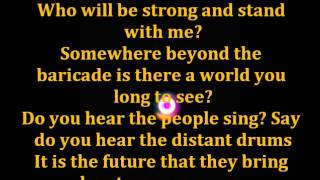 Les Miserables Epilogue (Do you hear the people sing?) Lyrics