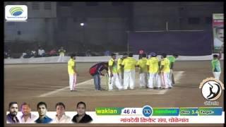 vuclip mahendra mhatre 4 ball 4 wickets Trimbak Chaudhari Chashak 2016