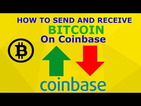 How To Send And Receive Bitcoin On Coinbase