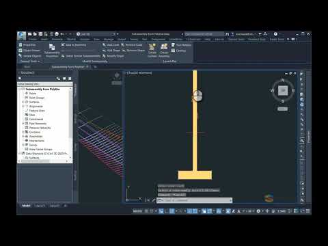 Create A Subassembly From A Polyline In Autodesk Civil 3D