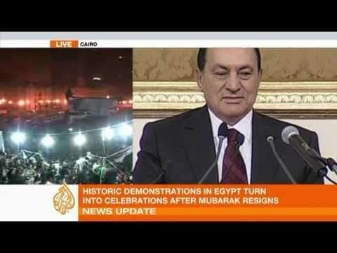 The rise and fall of Hosni Mubarak