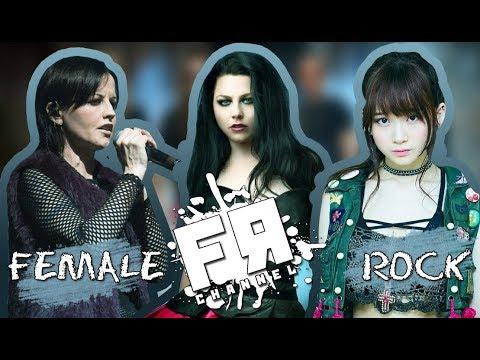 рок клипы с женским вокалом смотреть