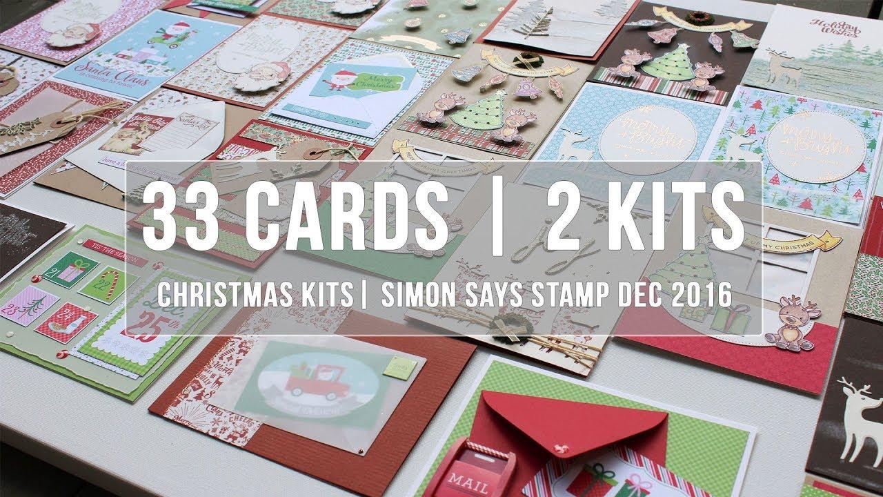 Christmas Card Kits To Make