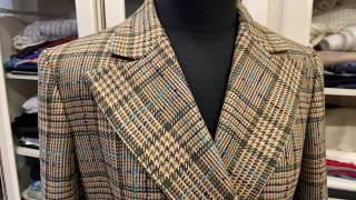Сшили женский двубортный пиджак в стиле RALPH LAUREN