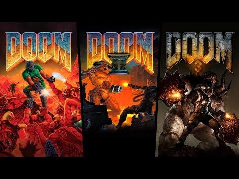 DOOM, DOOM II, and DOOM 3 Re-Release Trailer