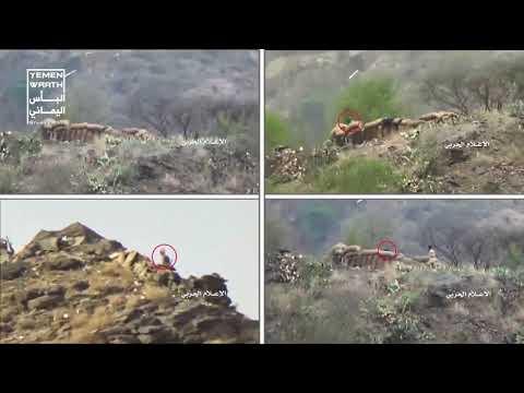 Нарезка работы хуситского снайпера по интервентам