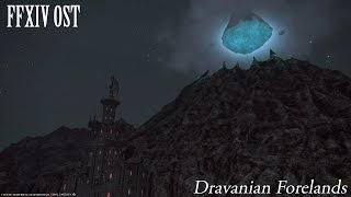 FFXIV OST Dravanian Forelands Theme ( Night Time )