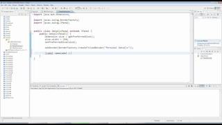 Advanced Java: Swing (GUI) Programming Part 3 -- Panels and Forms