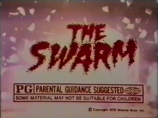 The Swarm 1978 TV trailer