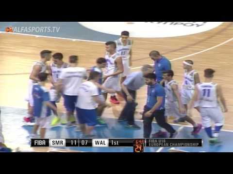 FIBA U16 | SAN MARINO v WALES | GAME 3 | 21/07/16