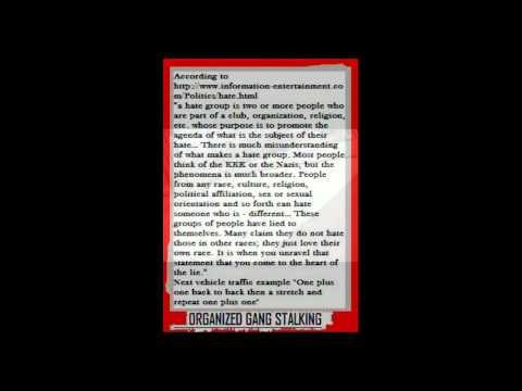 Niskayuna NY 12309 Organized Stalking