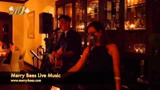 Merry Bees Live Music - PX & John sing All My Life (KC & Jojo cover)
