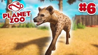 HYENA EXHIBIT! - Planet Zoo #6 w/ Vikkstar