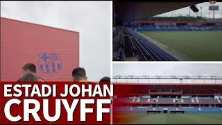 Se Inaugura El And39estadi Johan Cruyffand39 Vean El Espectacular Vídeo De Presentación  Diario As