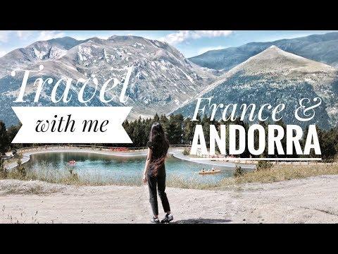 Travel with me Vlog N°1 : France - Andorra