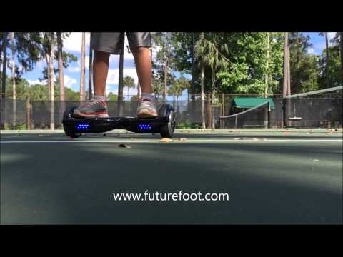 future foot self balancing personal transporter youtube youtube