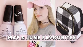 May & June Favourites + GIVEAWAY