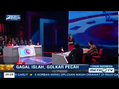 ISLAH GOLKAR GAGAL [FORUM INDONESIA metrotv] 1/2