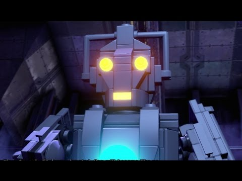 LEGO Dimensions - CyberKing & Dalek Emperor Boss Fights