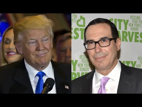 Trump Wants Goldman Sachs For Treasury Secretary