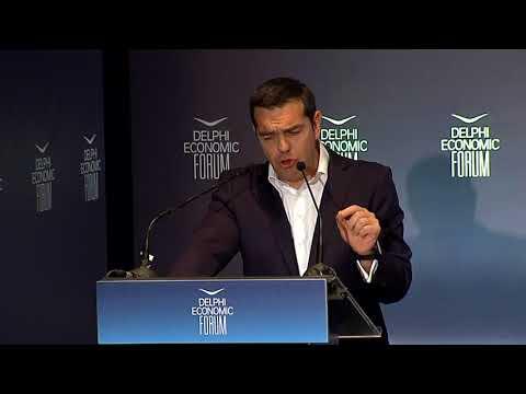 H.E. Alexis Tsipras, Prime Minister of the Hellenic Republic | Delphi Economic Forum 2018
