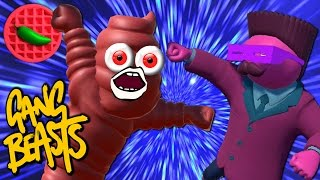 BACK TO THE BEATDOWNS! -- Gang Beasts (Beta 0.5) (Local Versus)