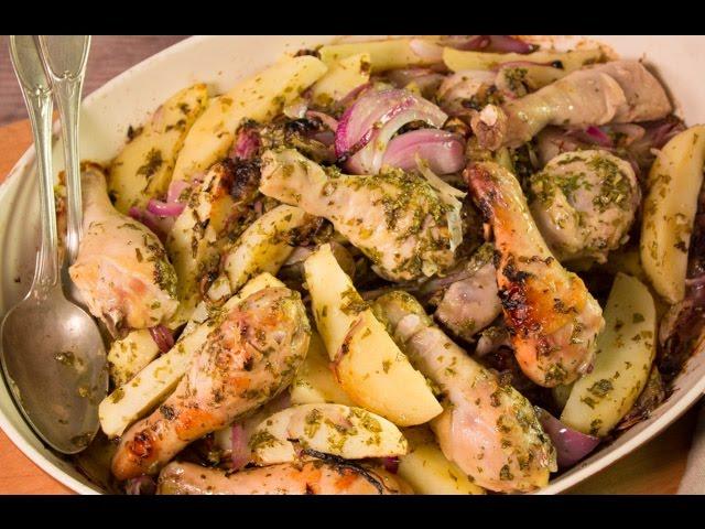 أسرع وأسهل الوصفات : MINI Recipe - صينية الدجاج بالليمون والكسبرة