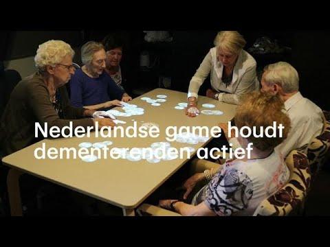 Voorkeur Nederlandse Tovertafel houdt dementerende ouderen actief - RTL @CH54
