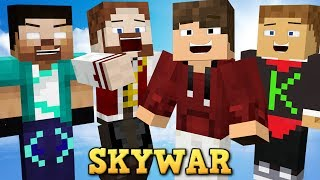 MINECRAFT: SKYWARS SUPER ENGRAÇADO!
