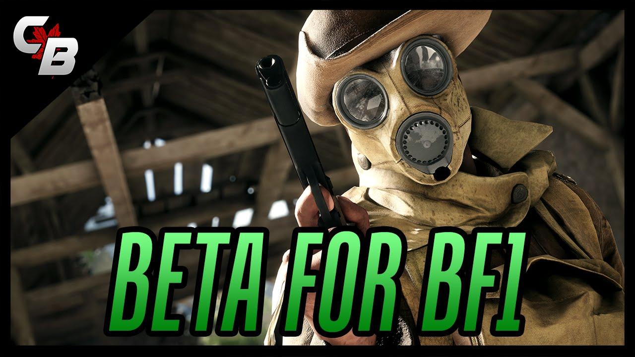 Battlefield 1 Beta Release