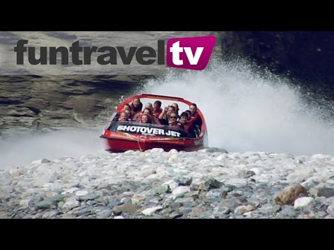 Jetboating the Shotover River Queenstown, New Zealand