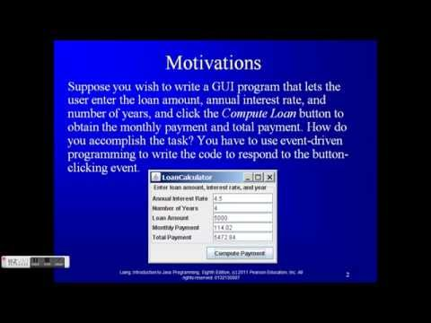 Event-Driven Programming in Java